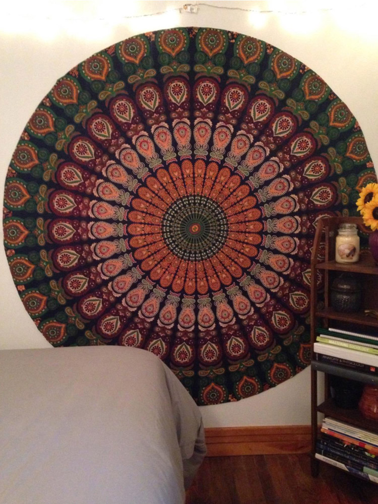 Indicka tapiseria mandala